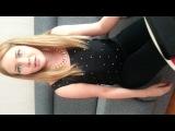 Финка поёт песню чёрные глаза)).Невероятно красивая девушка.