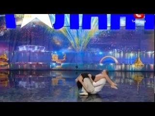 Шикарный танец на шоу