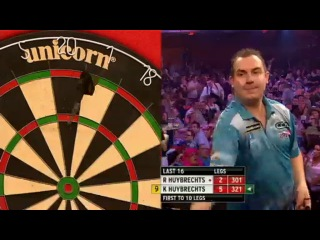 Ronny Huybrechts vs Kim Huybrechts (Grand Slam of Darts 2013 / Second Round)