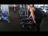 Мастер - класс Victor Martinez. Тренировка мышц спины.