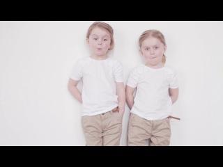 Мы желаем вам хорошего дня и говорим Привет! : вместе с моделями Macaronis Kids. БЛИЗНЯШКИ
