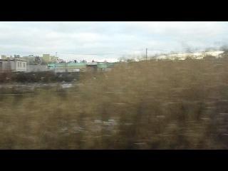 Вид из окна поезда 153