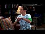 English with Sheldon. Rock, Paper, Scissors, Lizard, Spock.