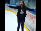 Будущая олимпийская чемпионка по фигурному катанию! Надежда России?