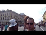 Алёна Пискун на Дворцовой!! Гей треш!