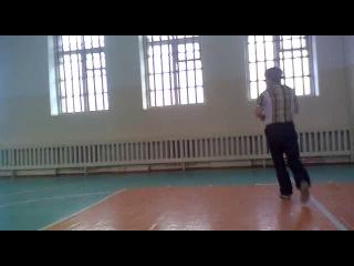 Спортивный шаг :D