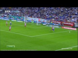 Эспаньол - Атлетико 1 тайм (FOOTBALLand.Net)
