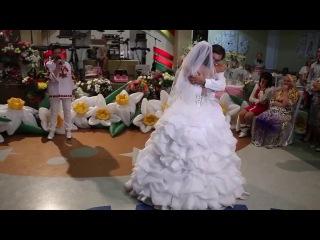 ТАНЕЦ ПАПЫ С ДОЧКОЙ. Свадебный клип. Восхитительно! Песня трогательная.