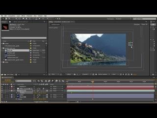 Создание 3D сцены из 2D изображения в After Effects. Урок 8