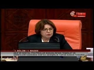 Türkiyə parlamentində kömürlü aksiya