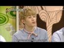 Talk Show Hello c EXO (СуХо, Крис, ЧанЁль) и Super Junior (ЫнХёк, РёУк, Генри) Ep.131.2 [рус. саб.]