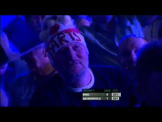 Mervyn King vs Raymond van Barneveld (Players Championship Finals 2013 / Round 1)
