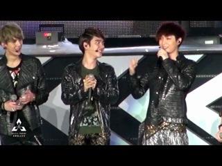 121125 SM Concert in thailand 에셈콘 태국 멘트 ment full [ avell-do ]