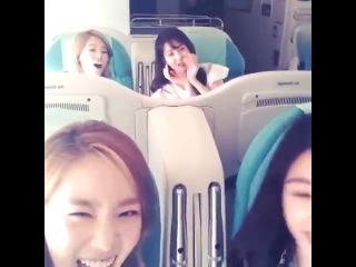 130628 taeyeon ss 비행소녀들의 아침비행 시작