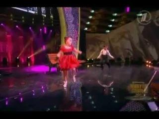 Маленькие дети танцуют на минуте славы) Мария Демьяненко и какой то мальчик:D