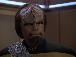 Star Trek: The Next Generation – Data–Worf Scene ENG