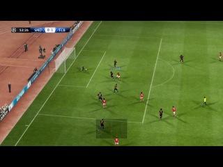 Как это было Спартак 3-1 Барселона 4 сезон PES 2013