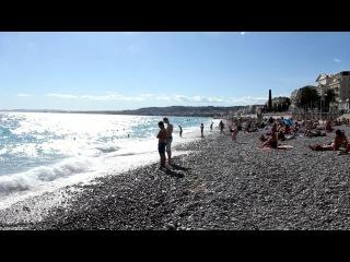 2012 сентябрь,Франция-Ницца, на пляже