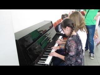 homevideo/ Игра в 4 руки. Пианино. Imagine Dragons – Radioactive