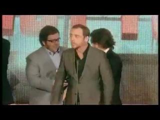 Sony Ericsson Empire Awards 2008 Best Comedy Hot Fuzz, Edgar Wright, Simon Pegg, Nick Frost