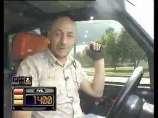 Обдолбанный парень попал в шоу ''Такси'' на ТНТ