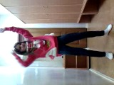 девочка танцует!!!! очень круто!