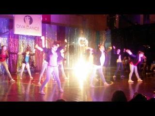 Новогодний отчетник 22.12.13, Клубные танцы