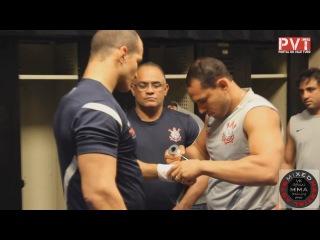 Тренировка Джуниора Дос Сантоса к UFC 155