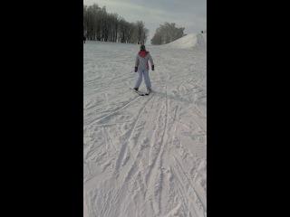 Чемпионка по лыжным гонкам