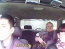 ЧЁТА ржу!?! Милая семейка в авто (Это надо видеть и слышать!)