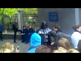 Дарт Вейдер в ОГАСА 24.10.2012