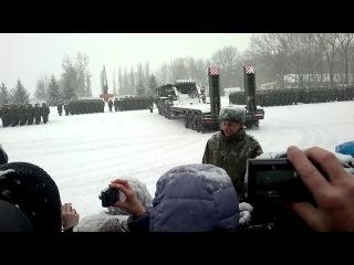 г. Острогожск присяга 2014  г. 9 февраля