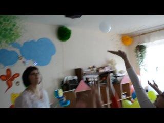 Шоу мильних бульбашок в Козельці