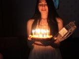 День Рождения Таниты 2013 год (Танита задувает свечи)