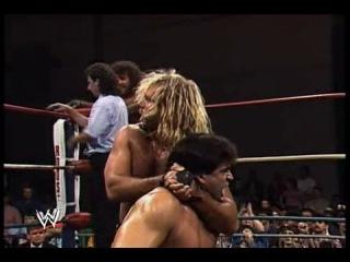 WWEWM NWA WrestleWar 1990 Brian Pillman and Tom Zenk Vs Fabulous Freebirds WCW US Tag Team
