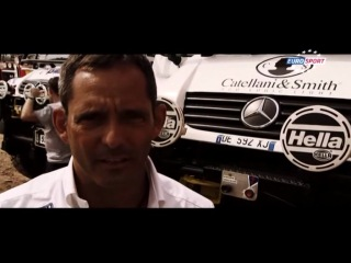 Дакар 2013 Этап 1 Обзор Eurosport 2