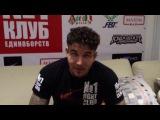 Frank Mir передает приветы MMABoxing.ru [неудачные дубли (2)]