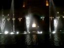 поющие цветные фонтаны в Ереване