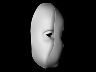 Эффект маски (иллюзия вращающейся маски)