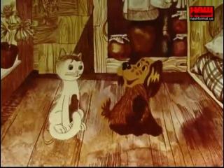 Як песик і кошеня мили підлогу