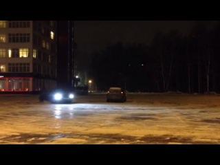 Subaru Impreza WRX STI snow fan 2013