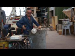 Венецианский стеклодув за работой