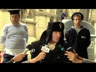 В Италии в центре Милана всплыла русская подводная лодка!