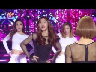 [PERF] 08.03.14 Girl's Day & Boy's Day (VIXX's Hongbin, NU'EST's Ren, BTOB's Minhyuk, and A-JAX's Seungjin) - Something @ MBC Music Core