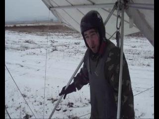 первое занятие Дмитрия Гузнова в дельтапланерном клубе СЛА Полет