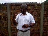 Речь председателя Союза глухих Южной Африки о Нельсоне Мандела на ЖЯ
