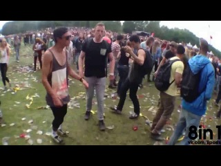 Танцуют под Бенни Хилла на транс-фестивале, монтаж / This Video Of Dutch Ravers Proves Adding (Yakety Sax) Benny Hill Music To Anything Is Awesome / Dansje doen @ Awakefest 2013 (Hilly Bill)