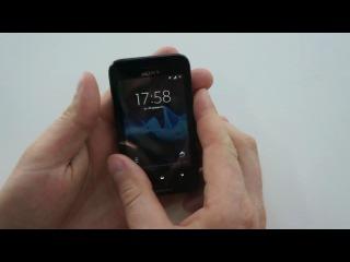 Обзор смартфона Sony Xperia tipo