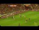 Остроумный финт Месси в матче против Лехии [720p]
