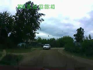 В Твери 18-летний водитель сбил на пешеходном переходе пожилую женщину и скрылся с места ДТП / регистратор